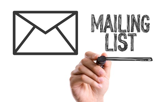 Building your mailing list with the guide in this article.